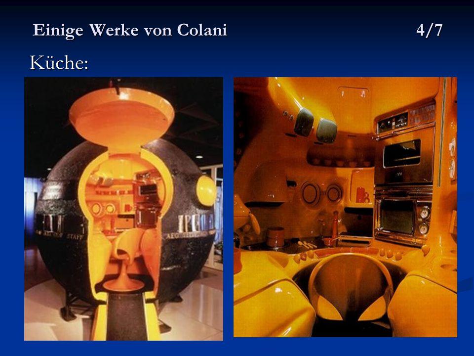 Einige Werke von Colani 4/7