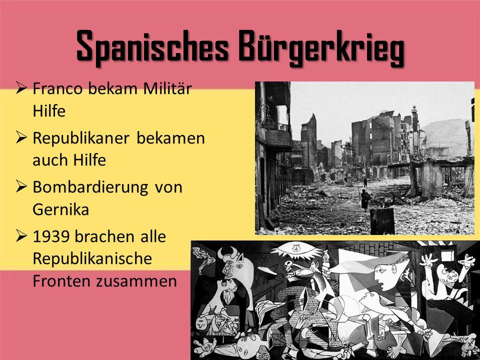 Spanisches Bürgerkrieg