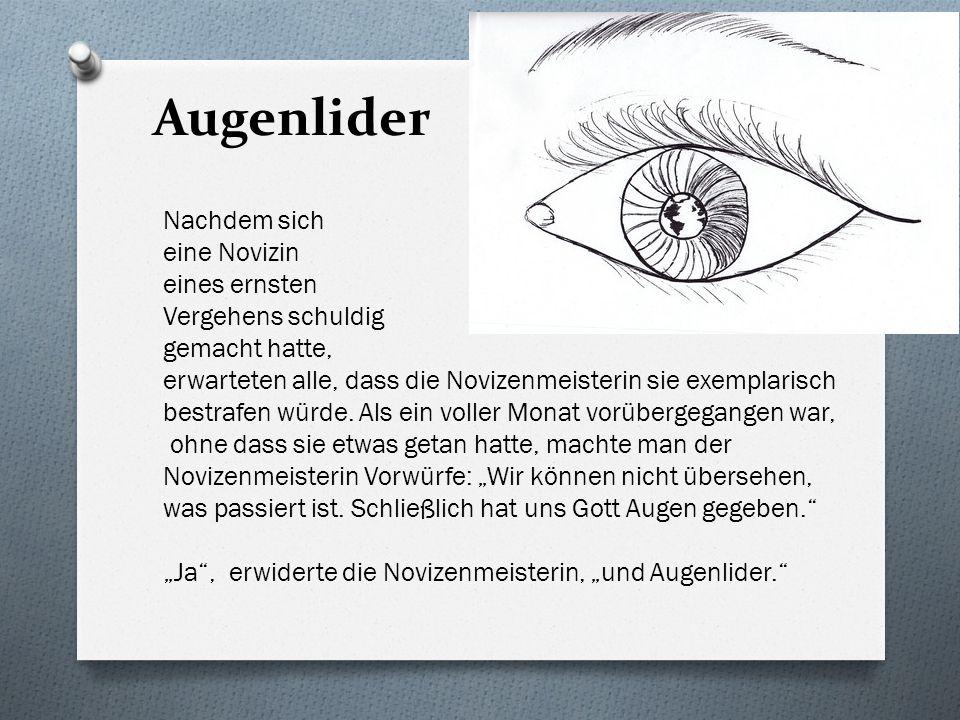 Augenlider