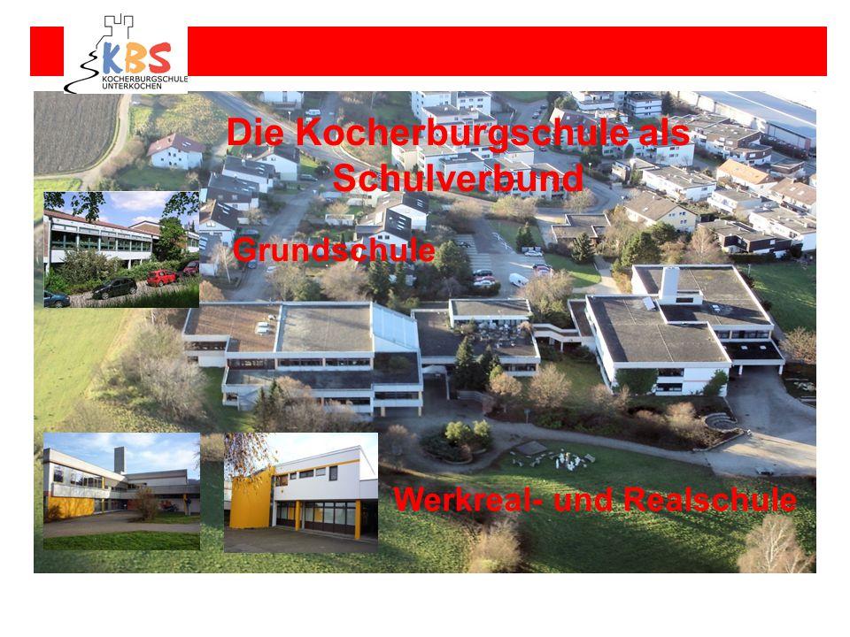 Die Kocherburgschule als Schulverbund Werkreal- und Realschule
