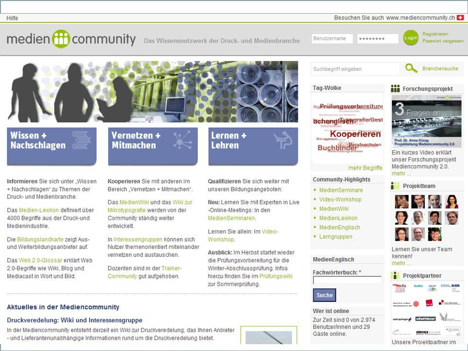 Inhalt des Onlineportals