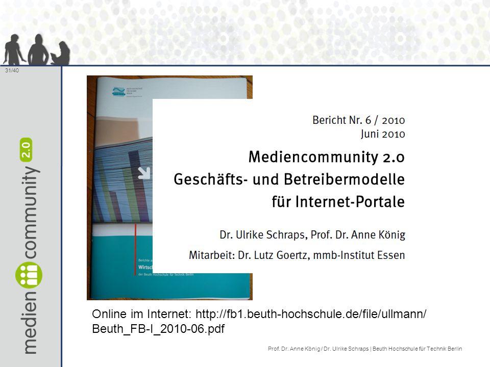 Online im Internet: http://fb1. beuth-hochschule