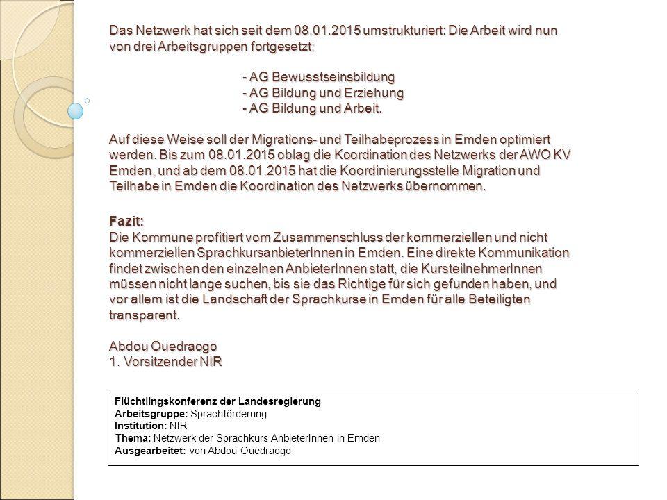 - AG Bewusstseinsbildung - AG Bildung und Erziehung