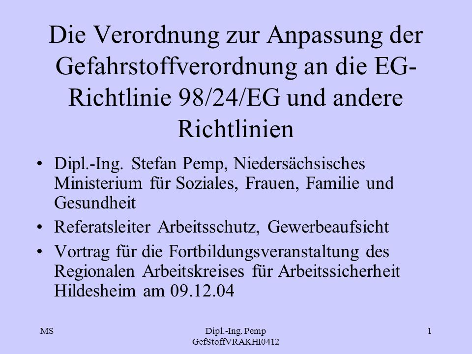 Dipl.-Ing. Pemp GefStoffVRAKHI0412