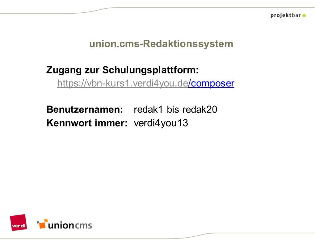 union.cms-Redaktionssystem