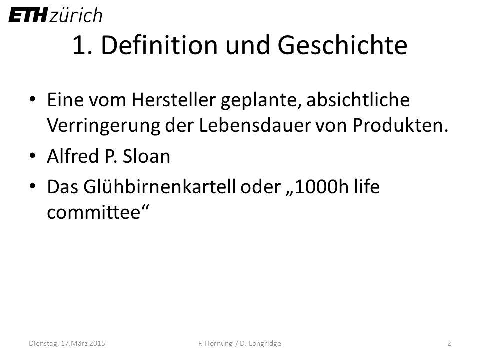 1. Definition und Geschichte