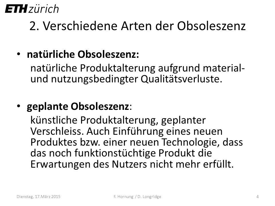 2. Verschiedene Arten der Obsoleszenz