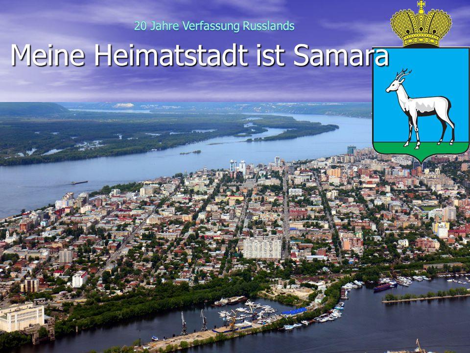 Meine Heimatstadt ist Samara