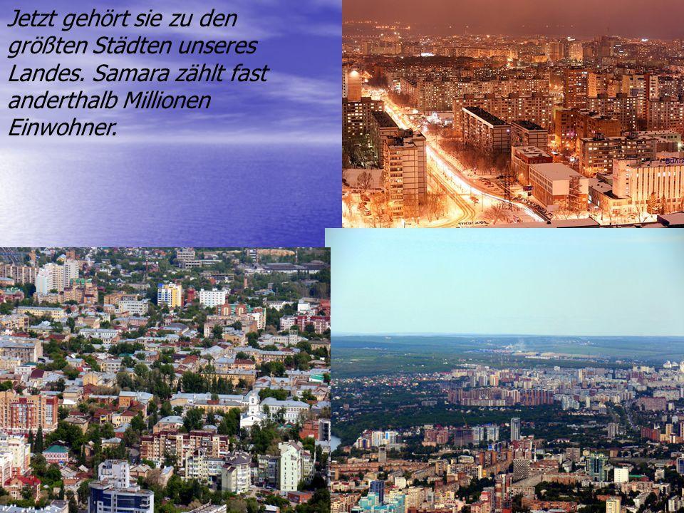 Jetzt gehört sie zu den größten Städten unseres Landes