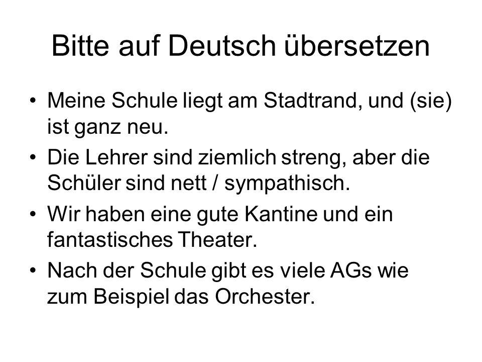 Bitte auf Deutsch übersetzen