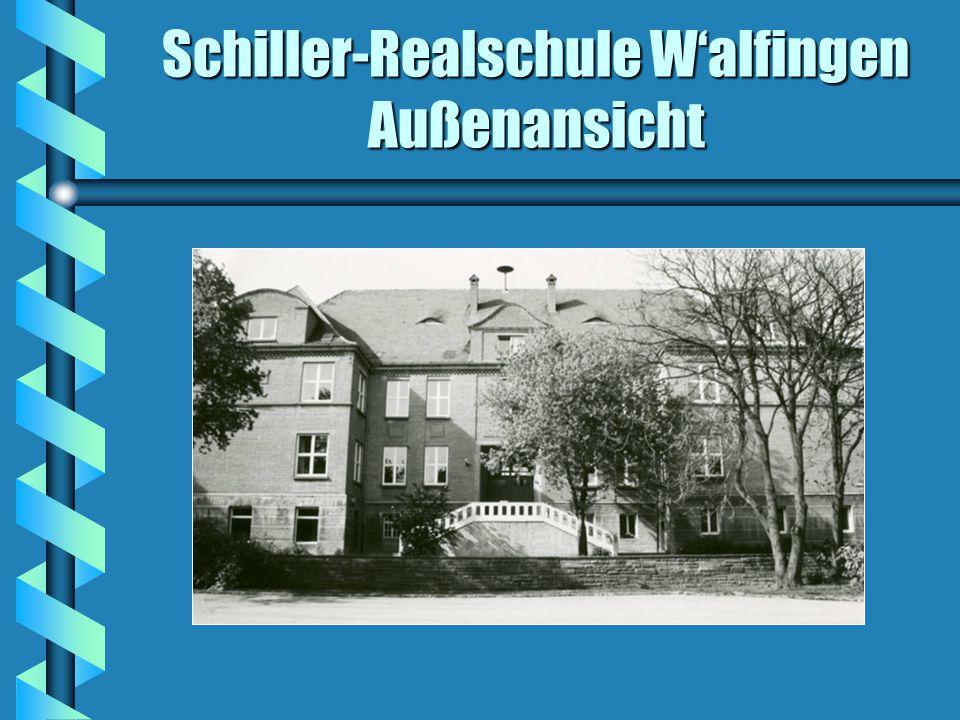 Schiller-Realschule W'alfingen Außenansicht