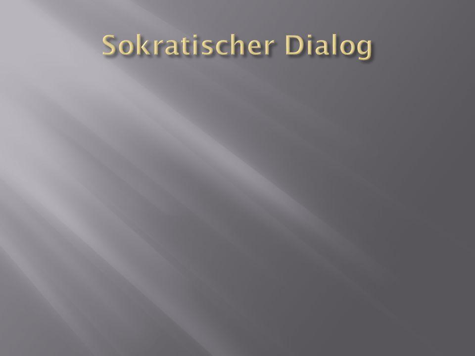 Sokratischer Dialog