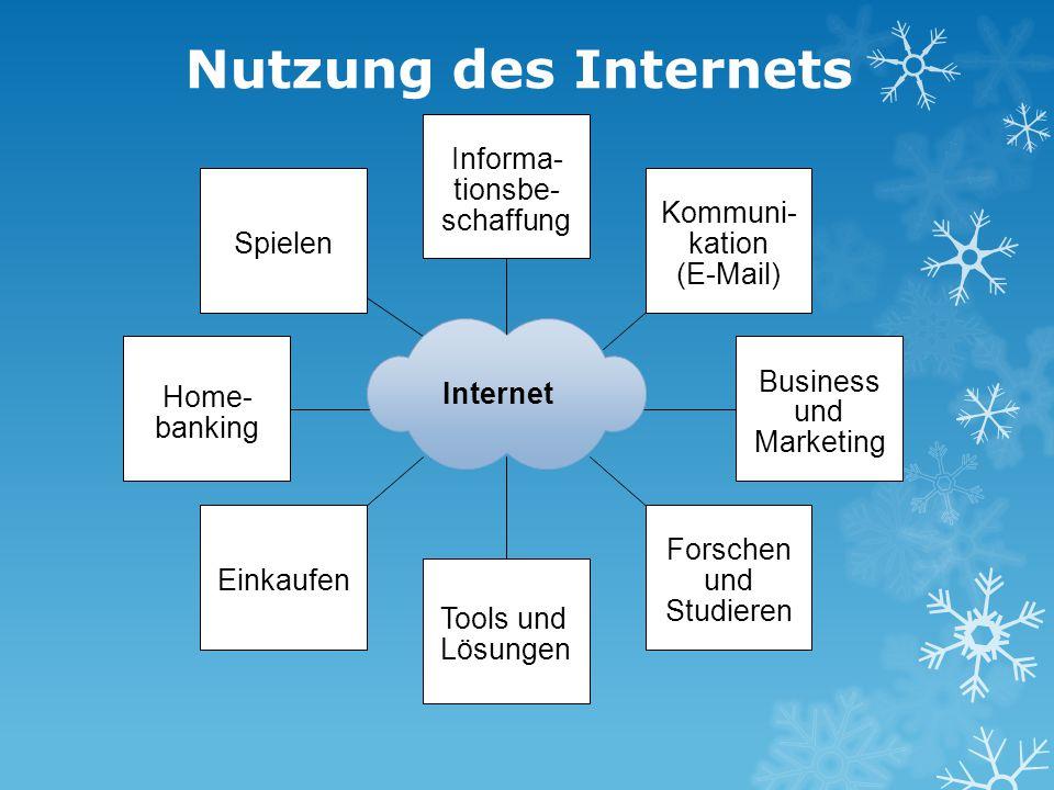 Nutzung des Internets Forschen und Studieren Tools und Lösungen