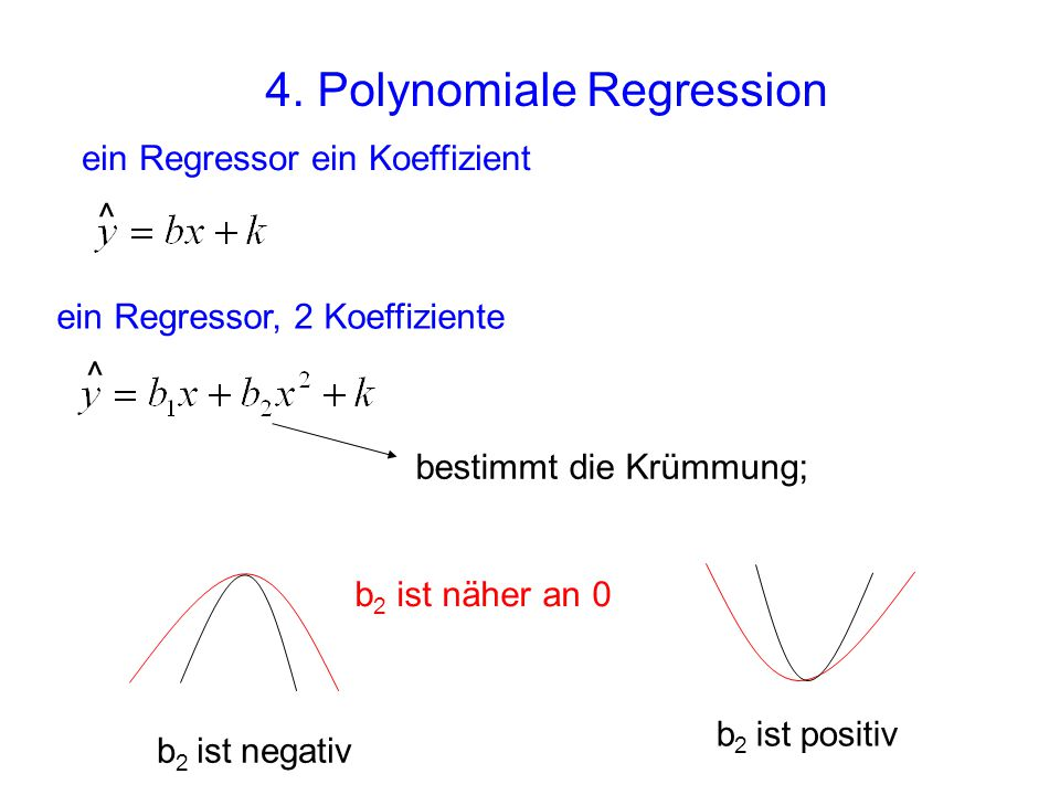 4. Polynomiale Regression