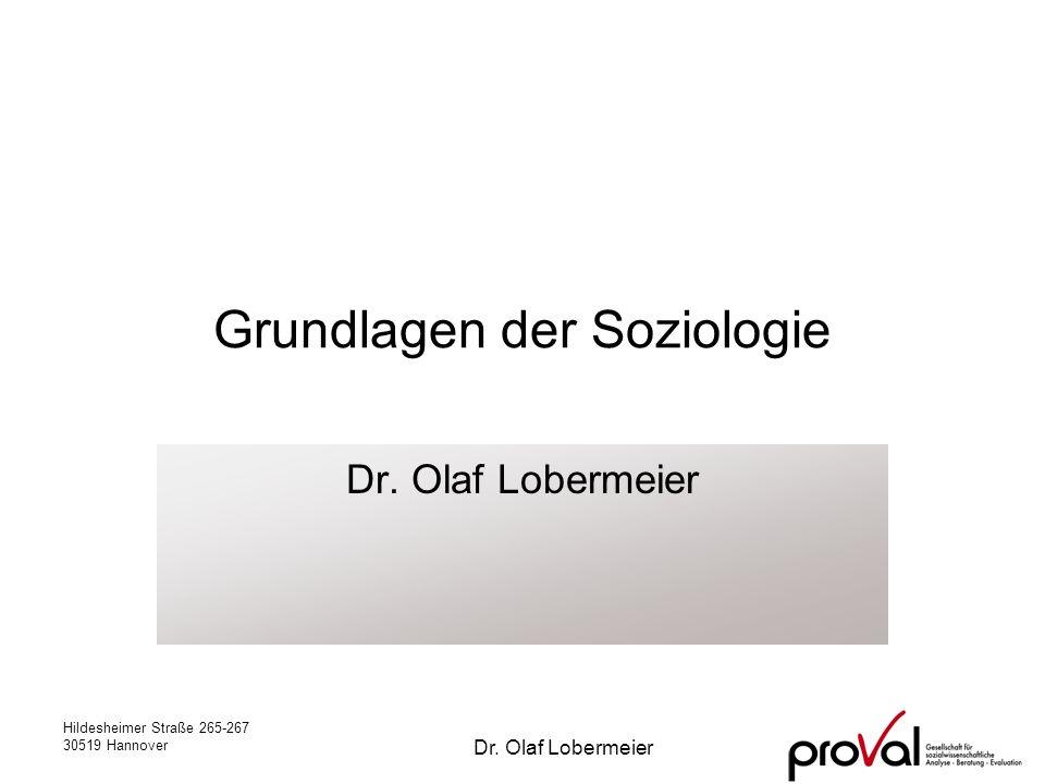 Grundlagen der Soziologie