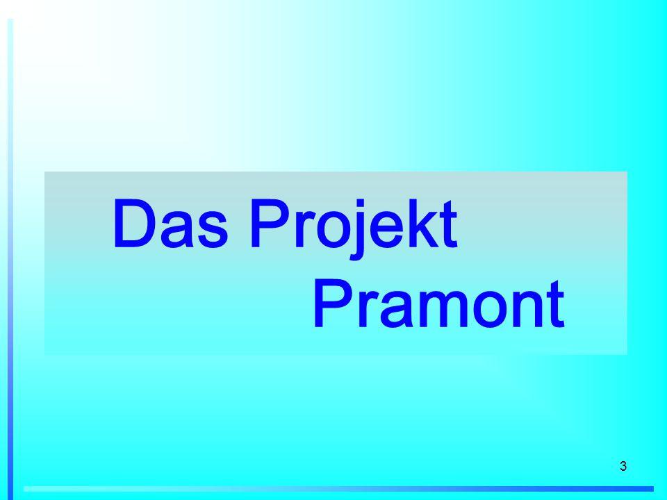 Das Projekt Pramont