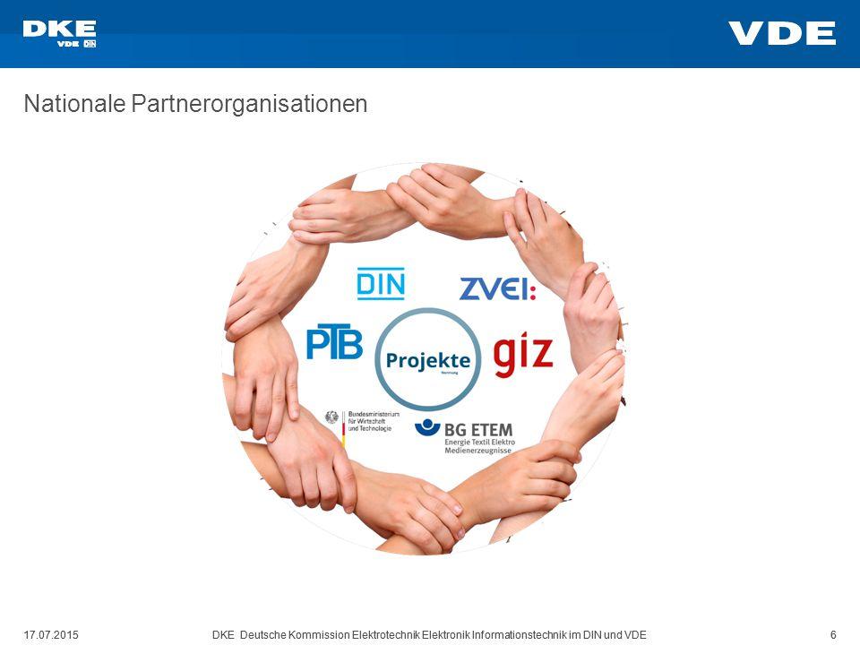 Nationale Partnerorganisationen