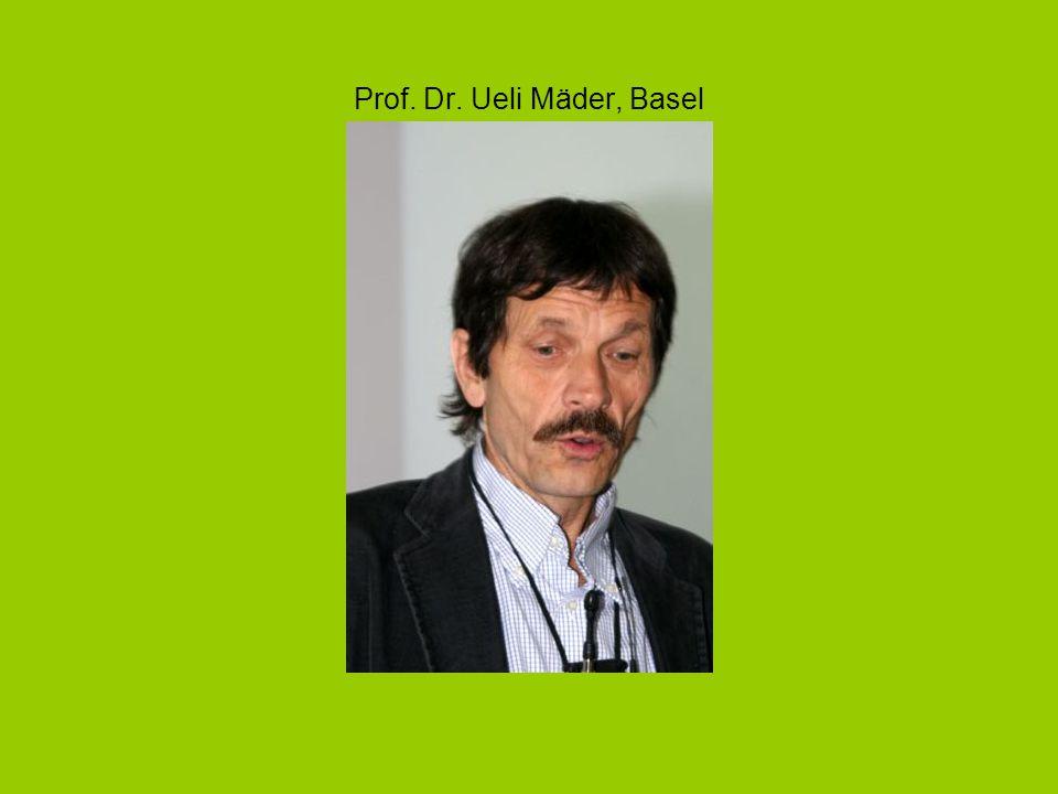 Prof. Dr. Ueli Mäder, Basel