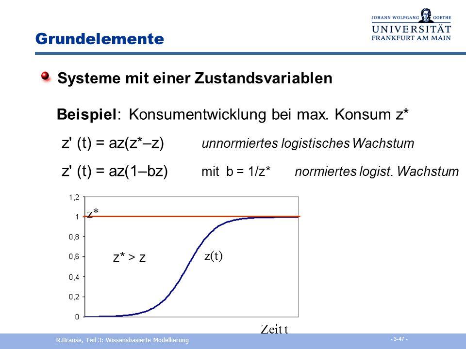R.Brause, Teil 3: Wissensbasierte Modellierung