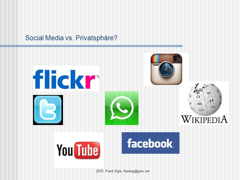 Social Media vs. Privatsphäre