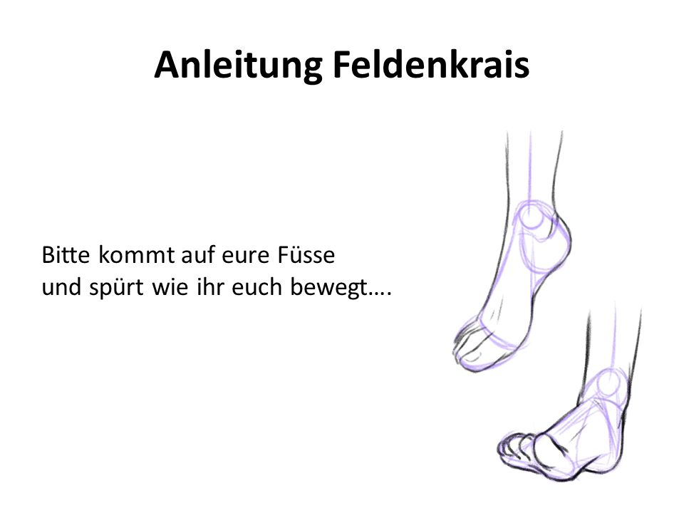 Anleitung Feldenkrais