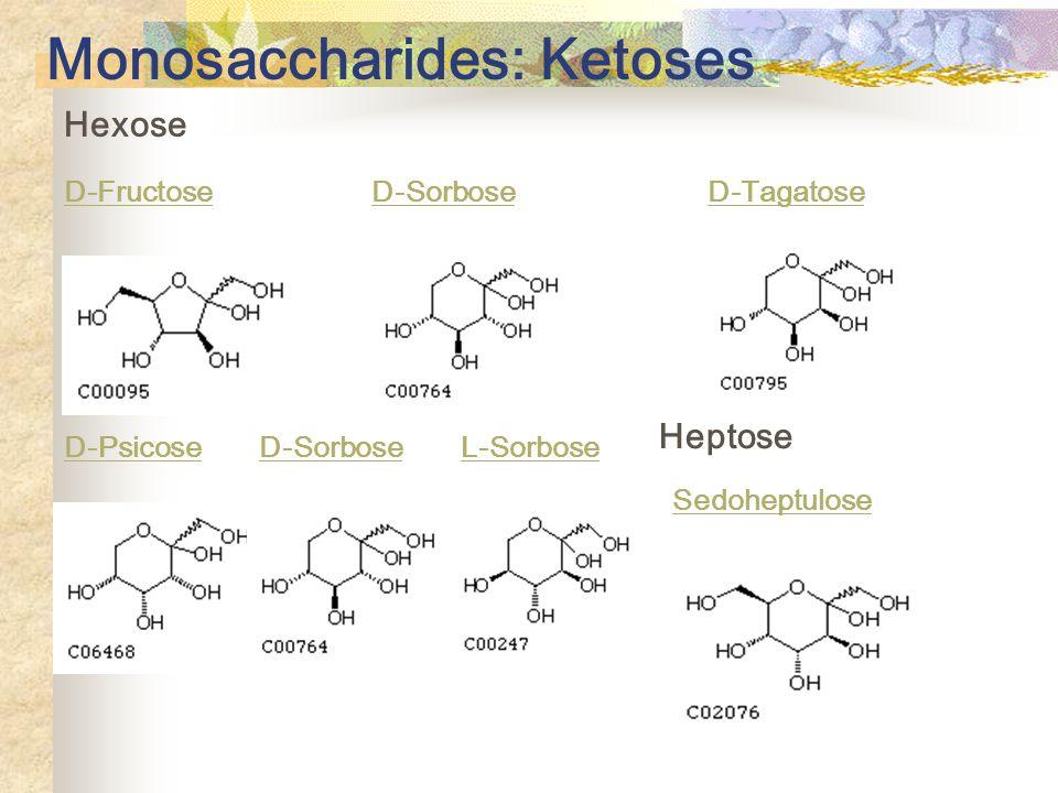 Monosaccharides: Ketoses