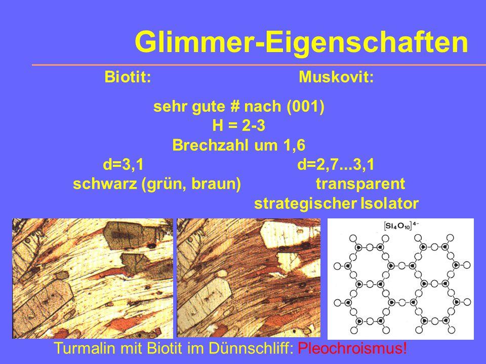 Glimmer-Eigenschaften