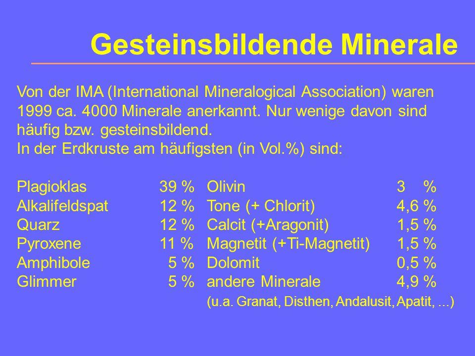 Gesteinsbildende Minerale