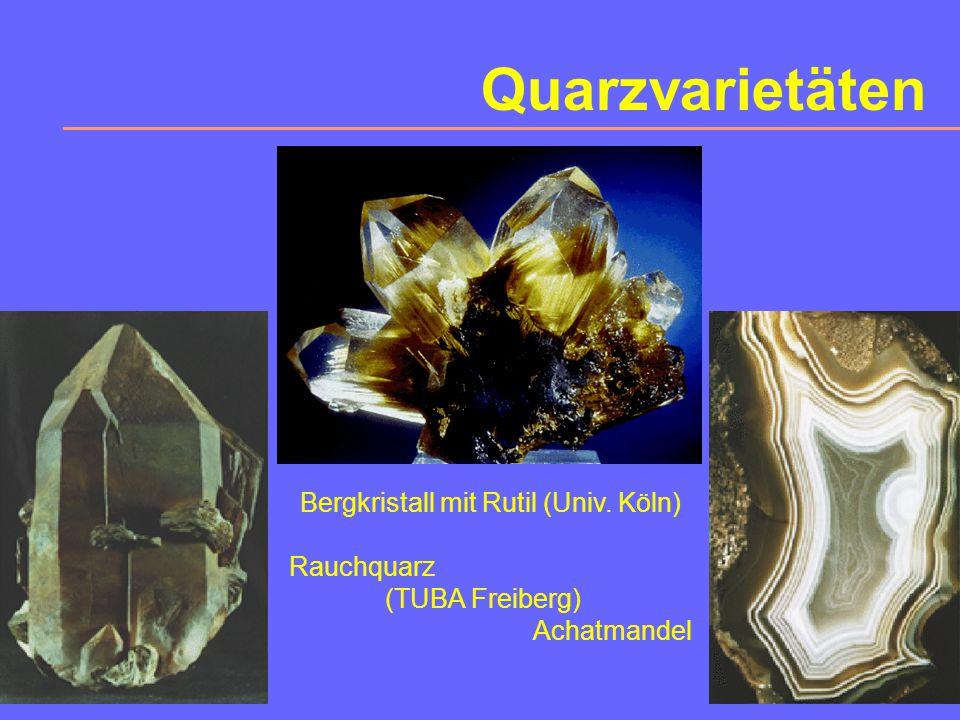 Bergkristall mit Rutil (Univ. Köln)