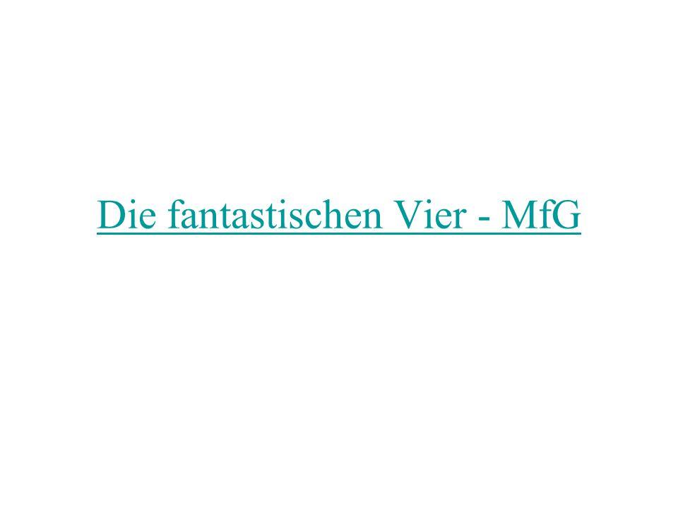 Die fantastischen Vier - MfG