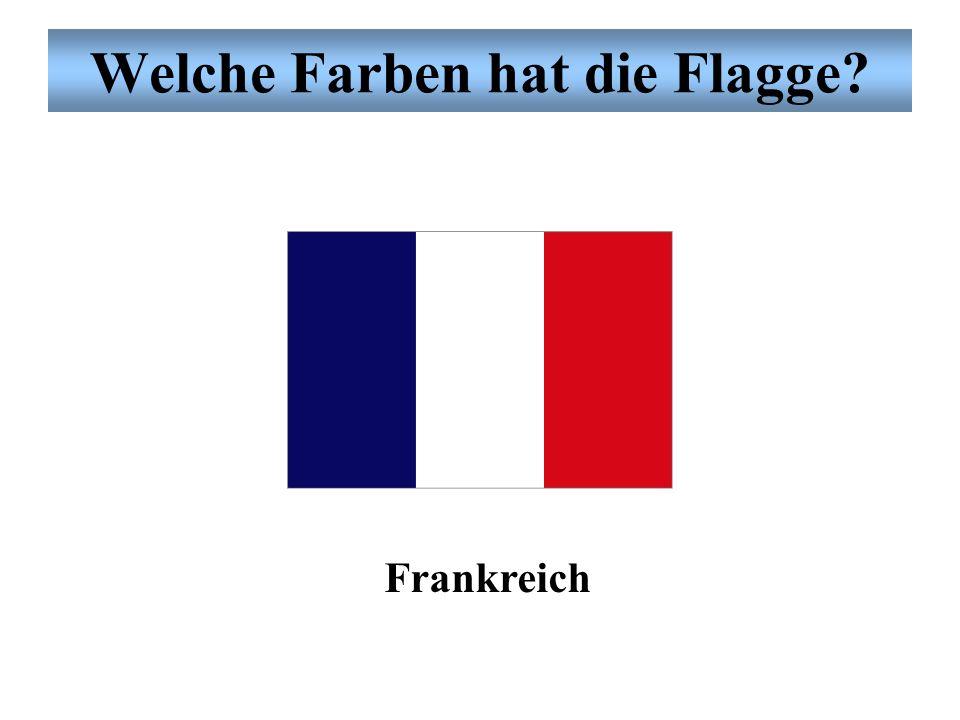 Welche Farben hat die Flagge