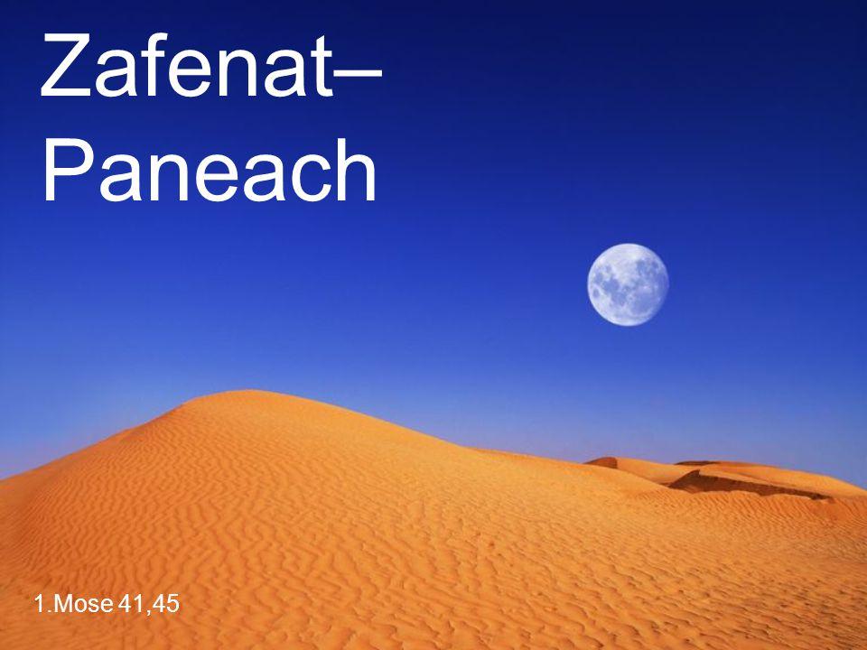 Zafenat–Paneach 1.Mose 41,45