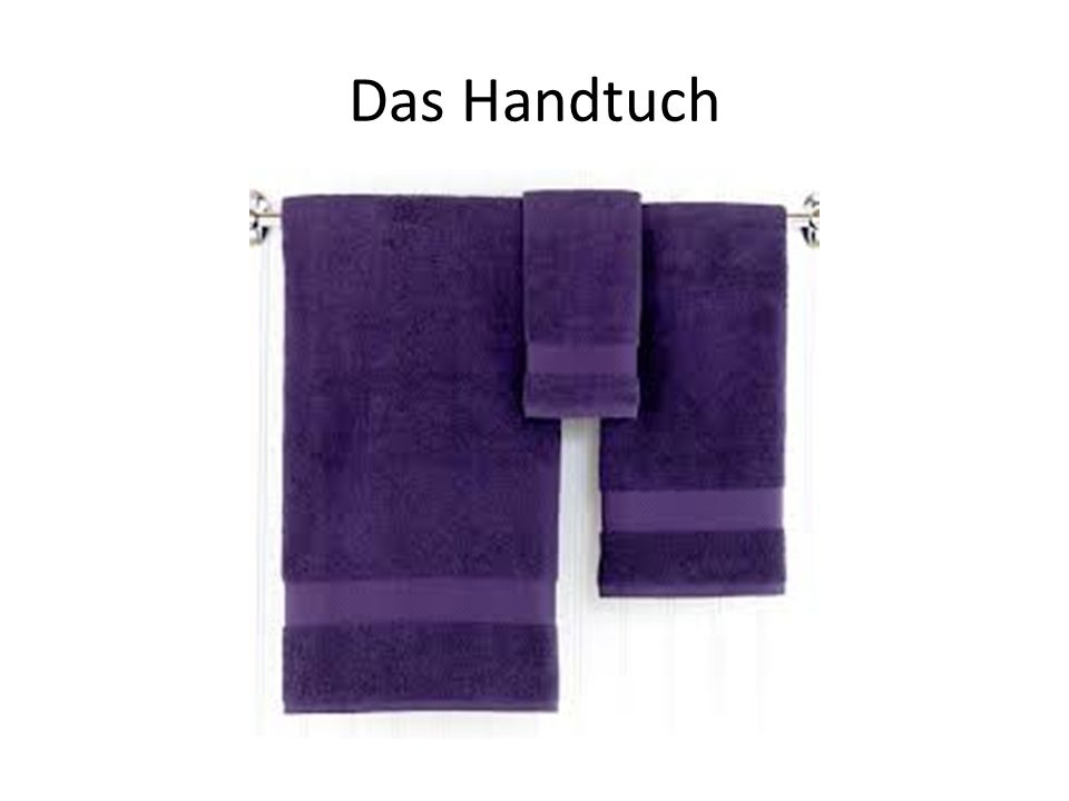 Das Handtuch
