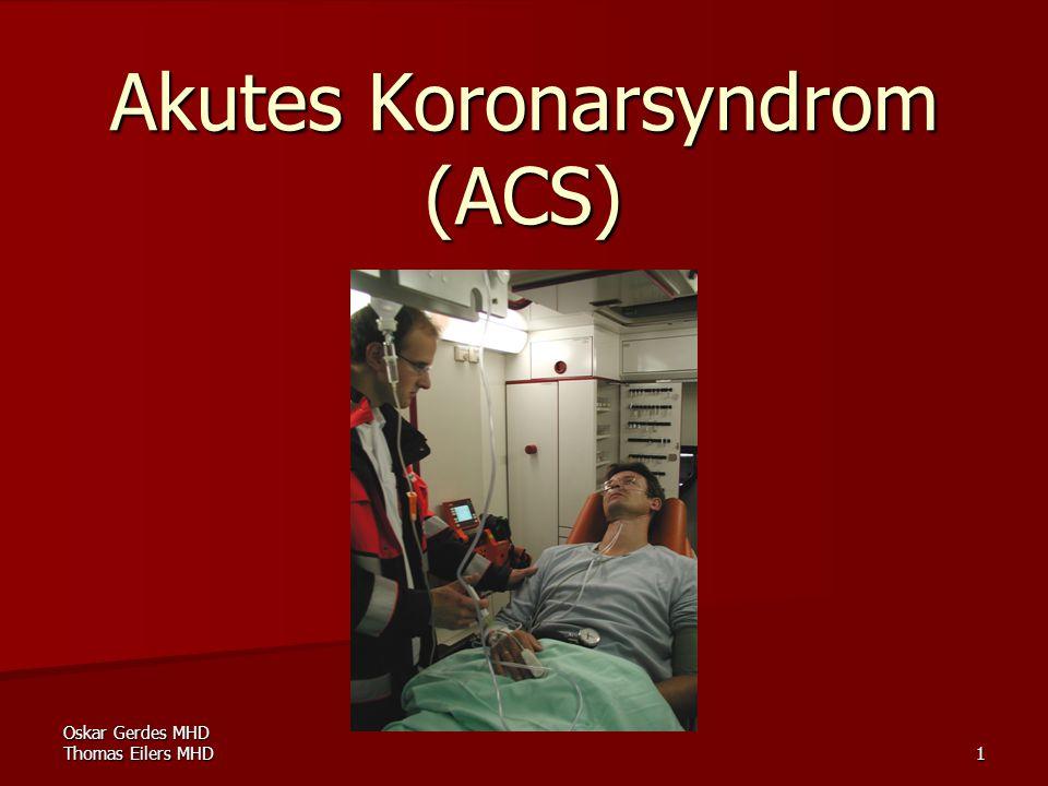 Akutes Koronarsyndrom (ACS)