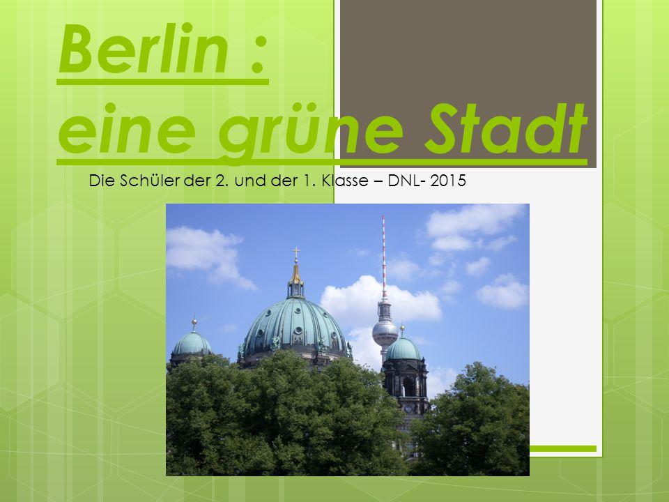 Berlin : eine grüne Stadt