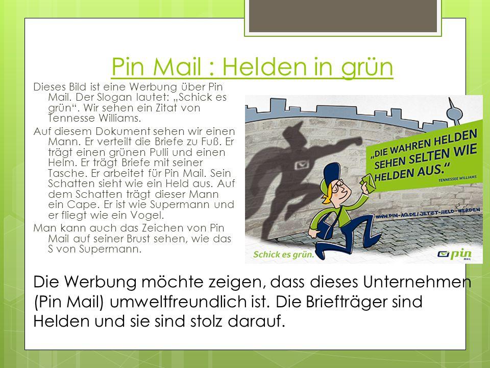 Pin Mail : Helden in grün