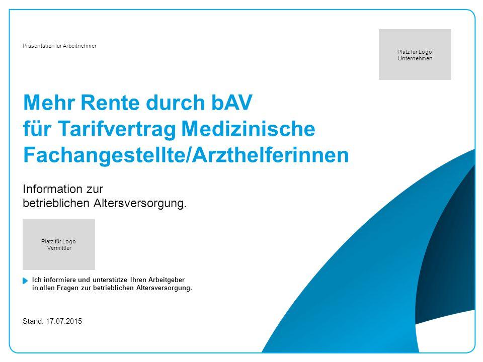 Information zur betrieblichen Altersversorgung.