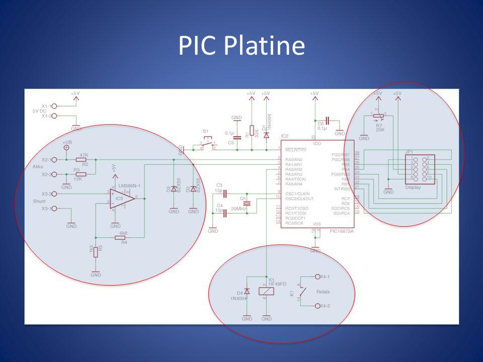 PIC Platine