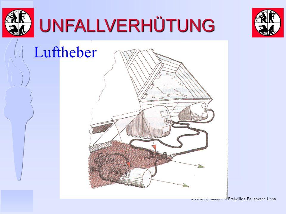 UNFALLVERHÜTUNG Luftheber