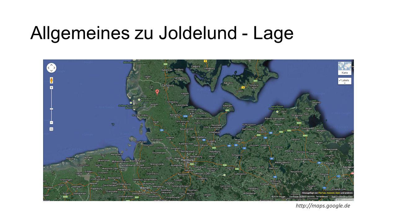 Allgemeines zu Joldelund - Lage