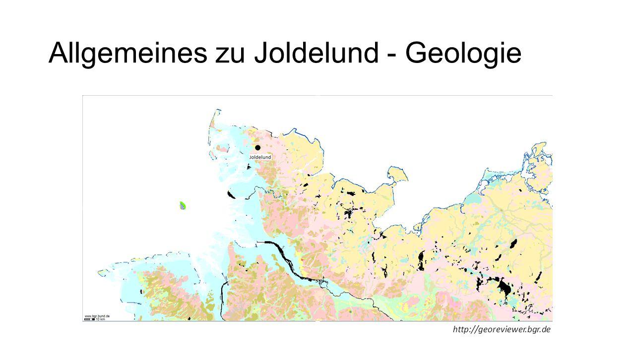 Allgemeines zu Joldelund - Geologie