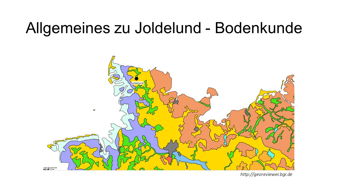 Allgemeines zu Joldelund - Bodenkunde