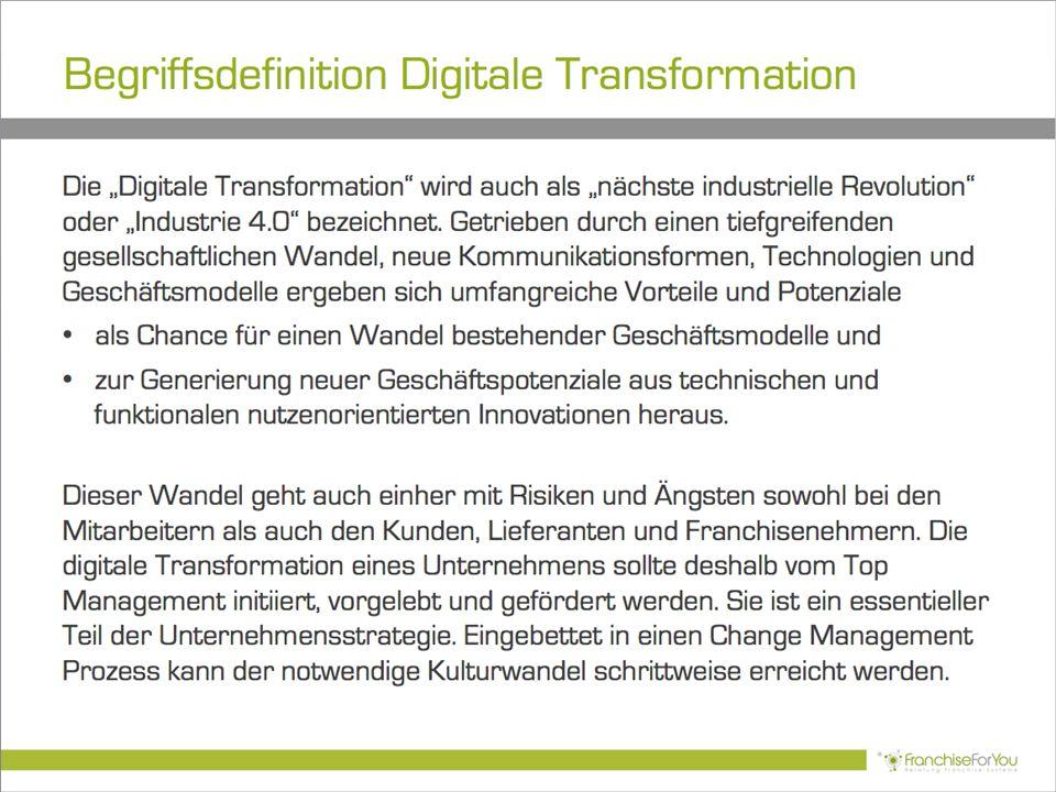 Begriffsdefinition Digitale Transformation
