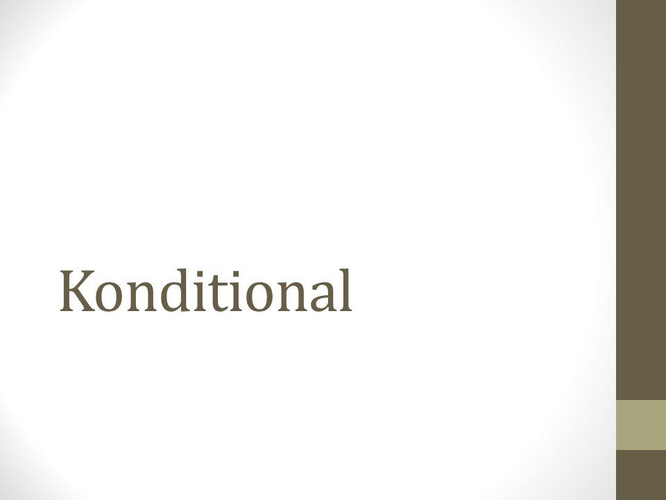 Konditional