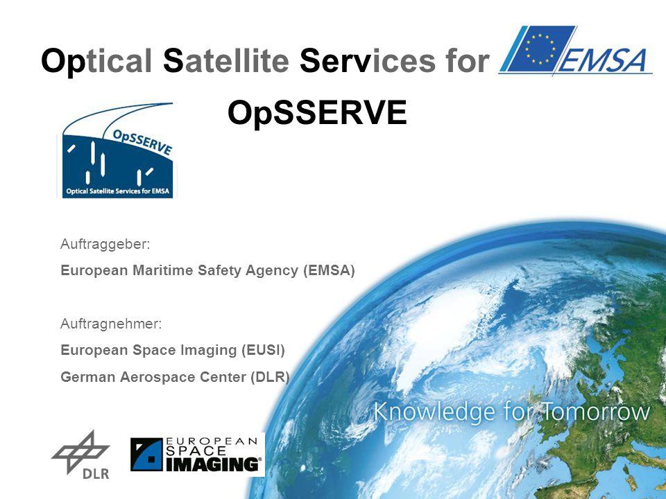 Optical Satellite Services for EMSA OpSSERVE