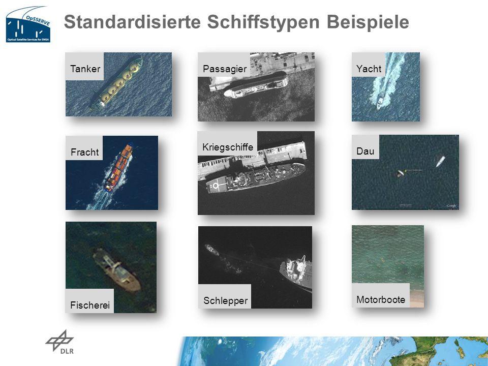 Standardisierte Schiffstypen Beispiele