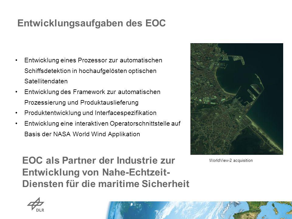 Entwicklungsaufgaben des EOC
