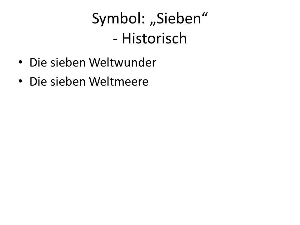 """Symbol: """"Sieben - Historisch"""