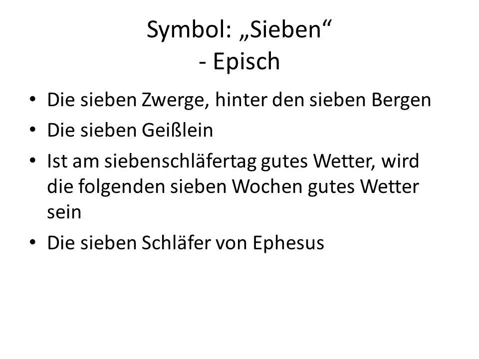 """Symbol: """"Sieben - Episch"""