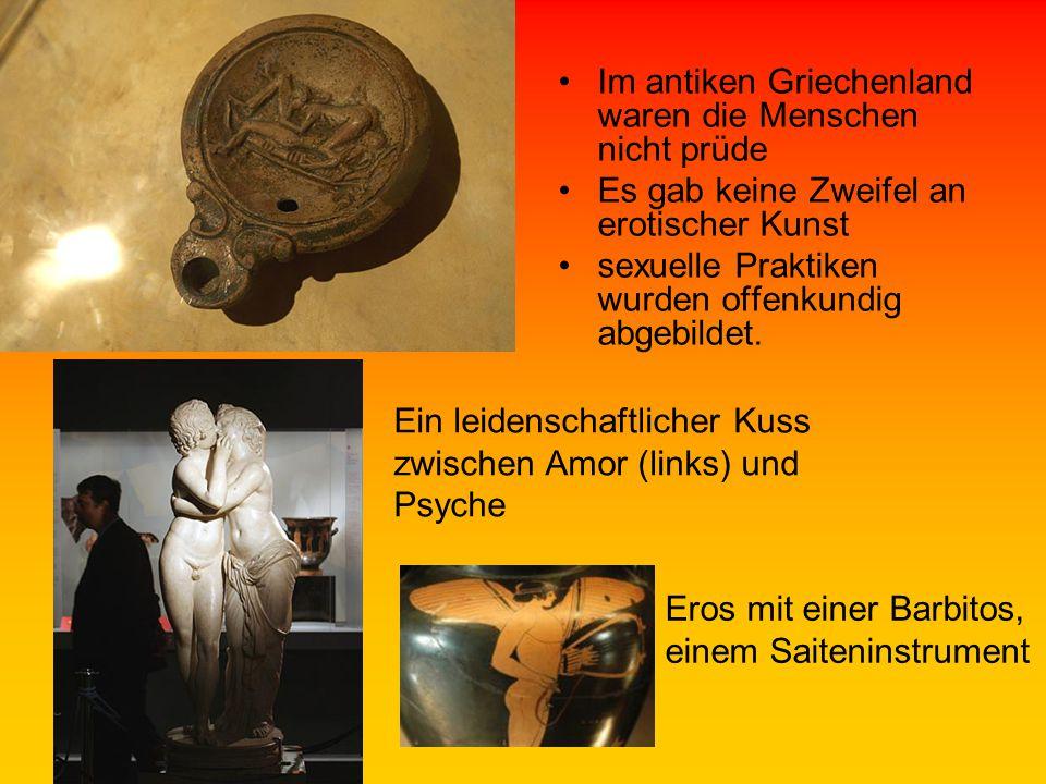 Im antiken Griechenland waren die Menschen nicht prüde
